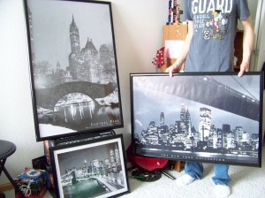 Framing My NYC Posters